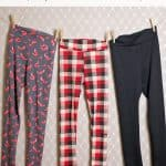 Yoga Waistband Legging Tutorial (free pattern 3 to 14)