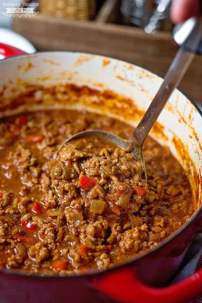 No Bean Chili Recipe, keto chil