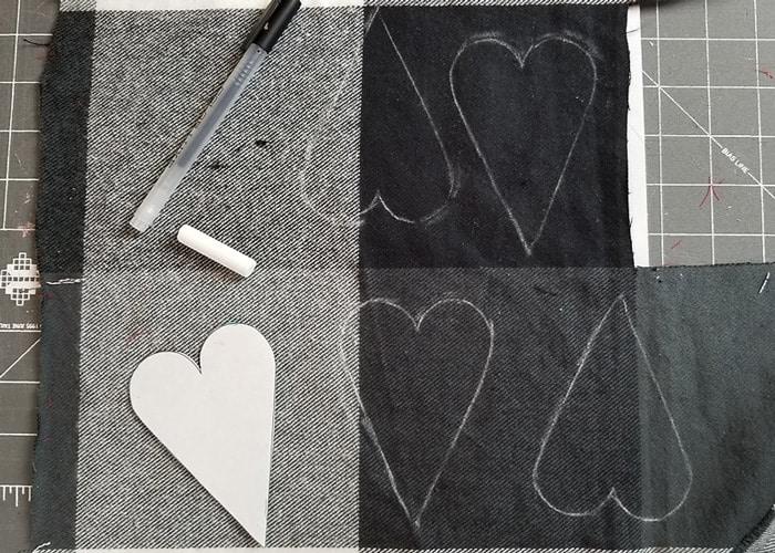 how to make a heart softie