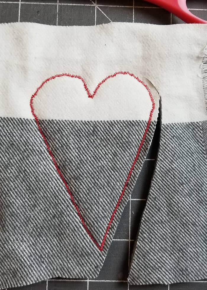 cut around heart softies