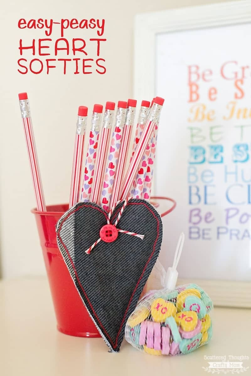 DIY Heart Softies