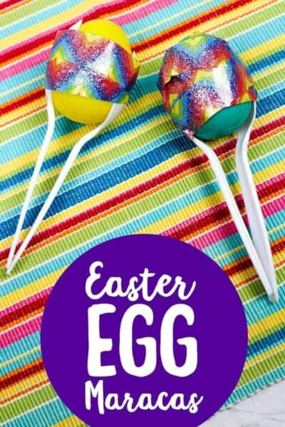 Easter Crafts: Easy Easter Egg Maracas