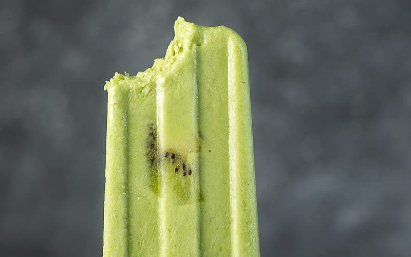 Easy Green Smoothie Popsicles