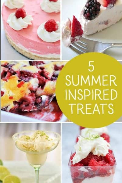 5 Summer inspired Recipes + Inspiration Monday