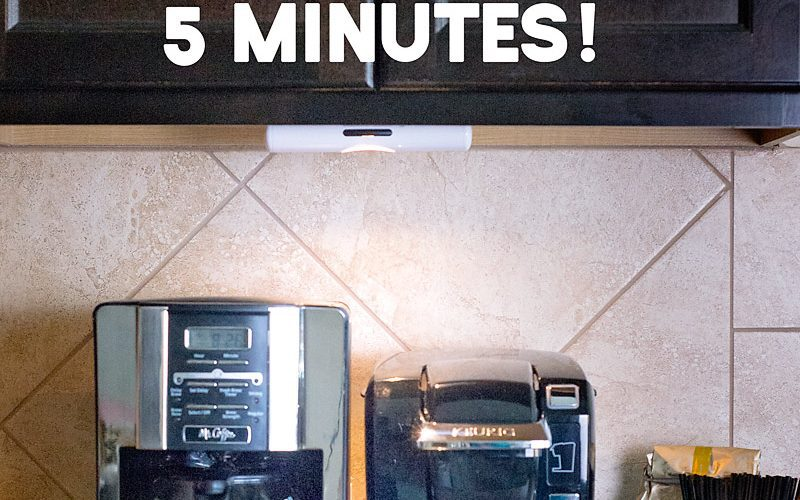 Install Under Cabinet Lighting in less than 5 minutes w/ Gorilla® Mounting Tape (plus $250 gift card Giveaway)
