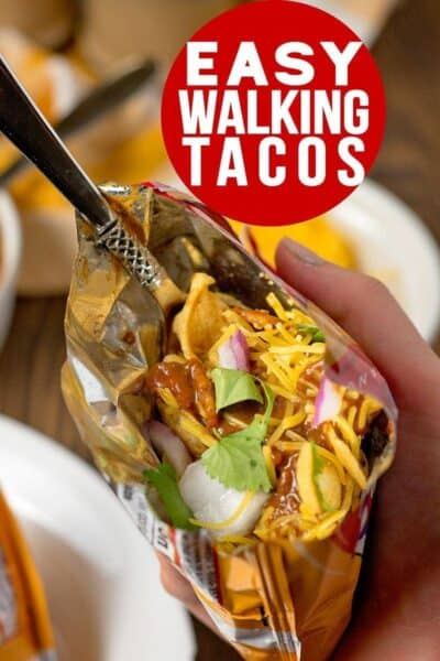 Easy Walking Tacos – the Perfect Summer Party Food!
