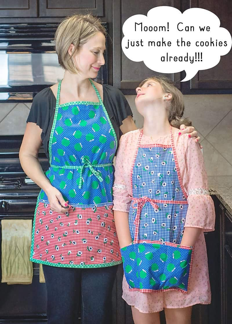 Learn how to sew an Apron with this free apron pattern.
