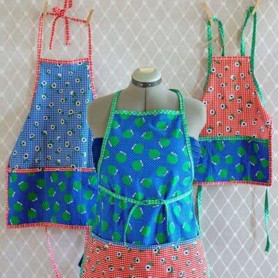 Free Apron Pattern (3 sizes toddler/ tween/ adult)