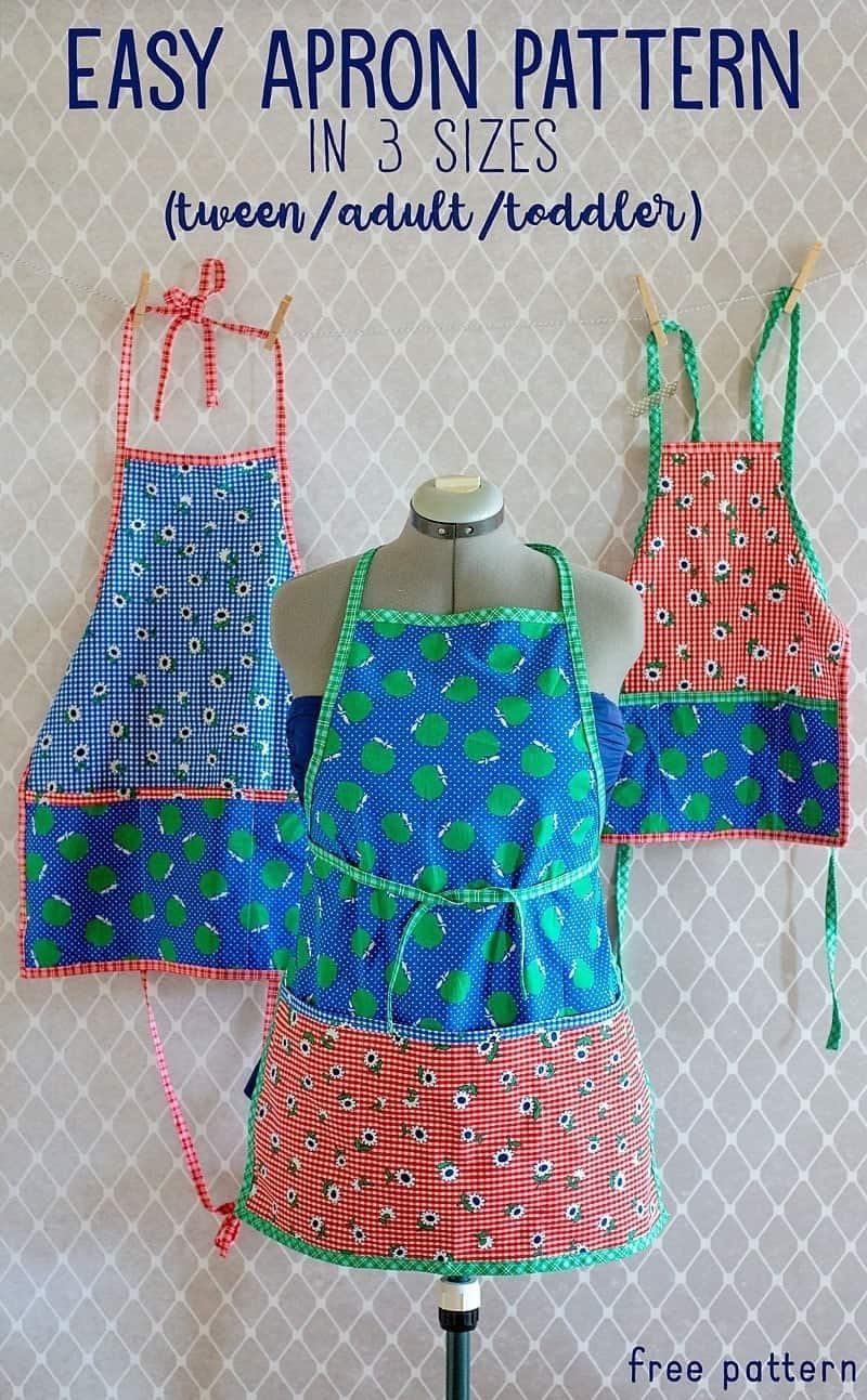 Childs Apron Pattern Awesome Decorating