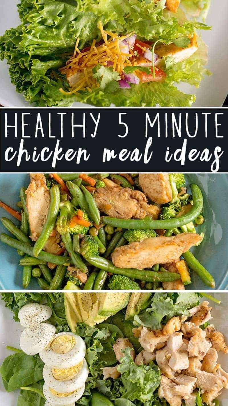 5 Minute Healthy Chicken Meal Ideas Cleaneating Scattered Thoughts Of A Crafty Mom By Jamie