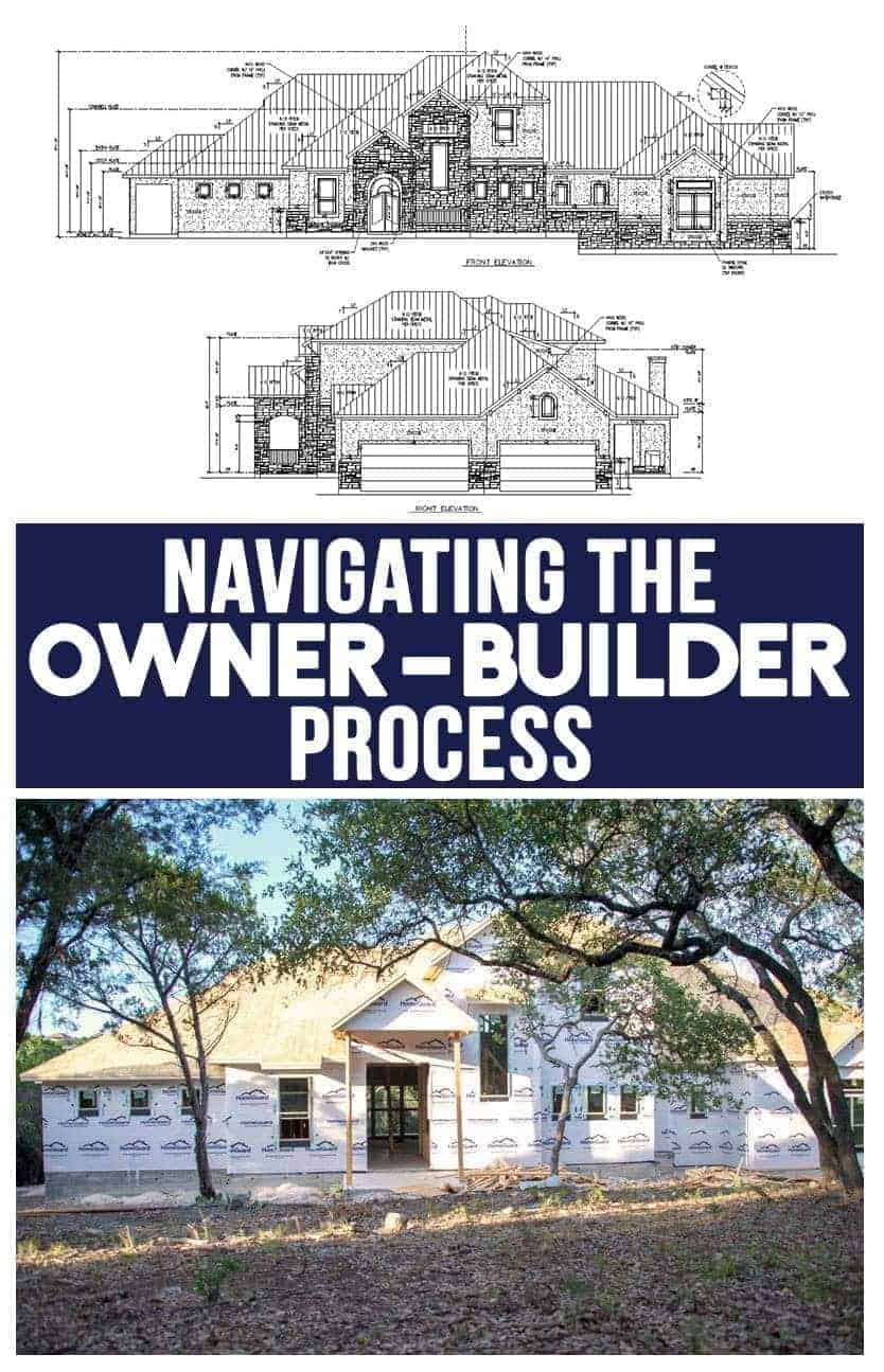 Navigating the Owner Builder process