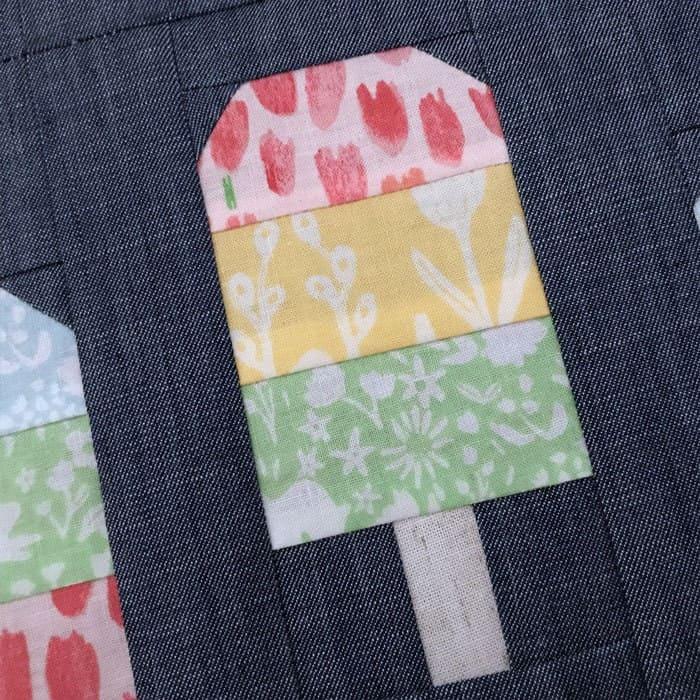 popsicle quilt block