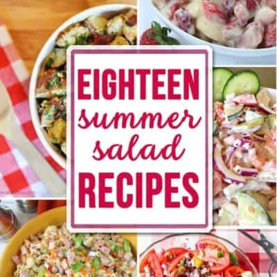 18 Summer Salad Recipes