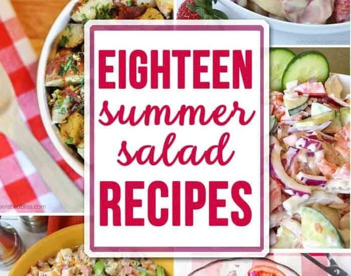 Eighteen Summer Salads