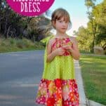 How to sew a Tiered Pillowcase Dress (tutorial includes a free printable pattern in sizes 2 to 8.) Pillowcase dresses are one of my favorite patterns to sew
