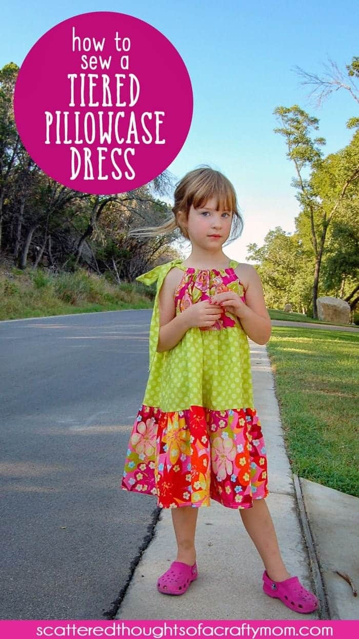 How To Sew A Tiered Pillowcase Dress Includes Free Bodice Pattern