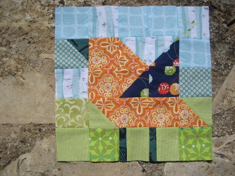 bird quilt block