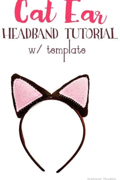 How to make a Cat Ear Headband