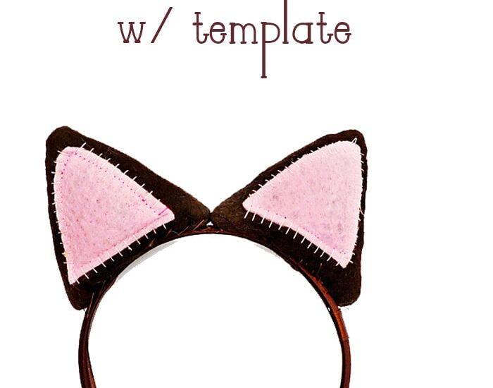 How to make a Cat Ear Headband