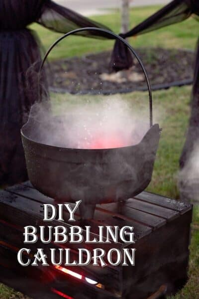DIY Bubbling Cauldron