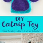 how to sew a catnip toy