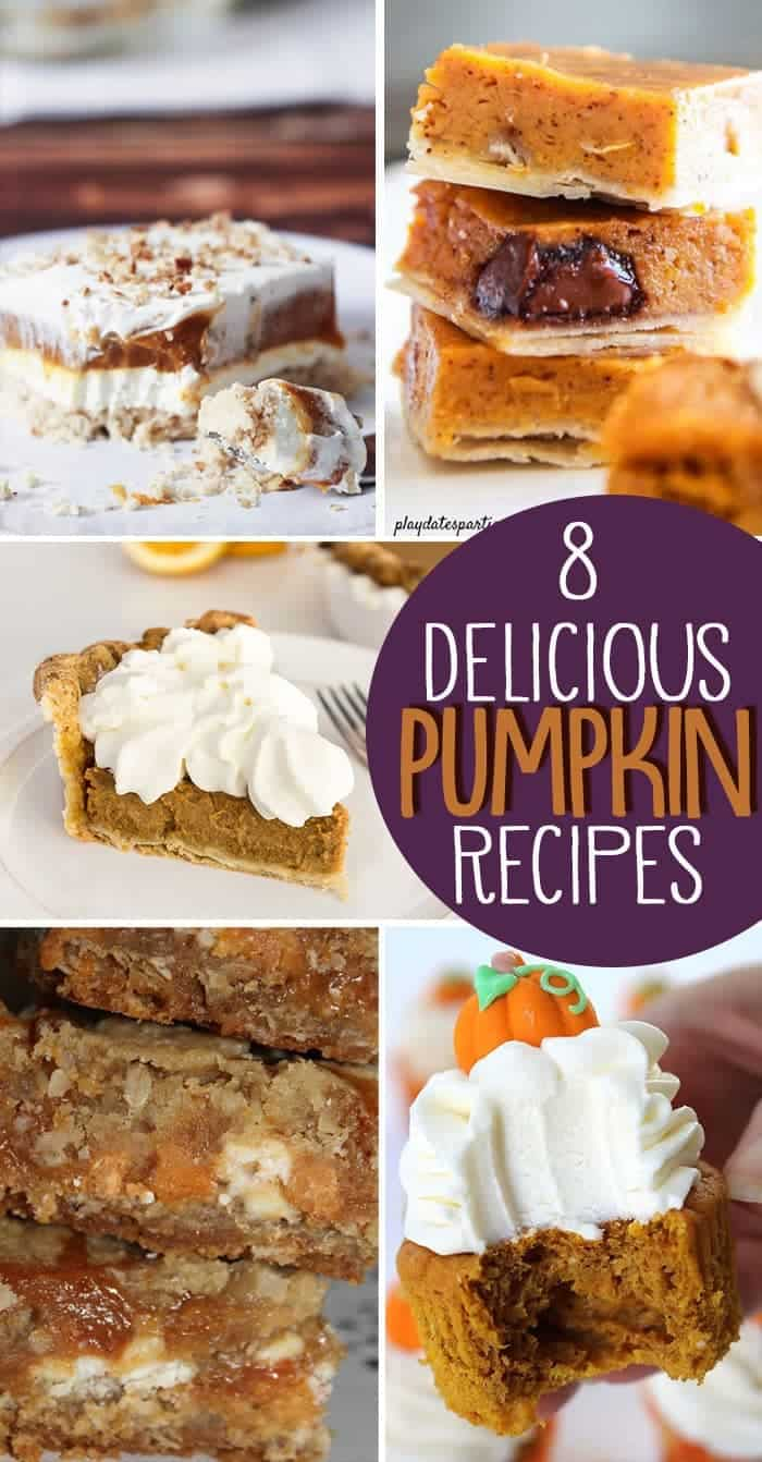 8 Tried and True Delicious Pumpkin Recipes