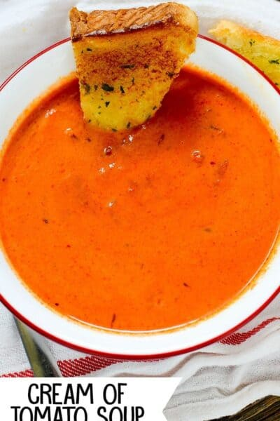 This simple Instant Pot Cream of Tomato Soup is delicious, hearty and oh-so-flavorful! (how to make tomato soup in the pressure cooker)