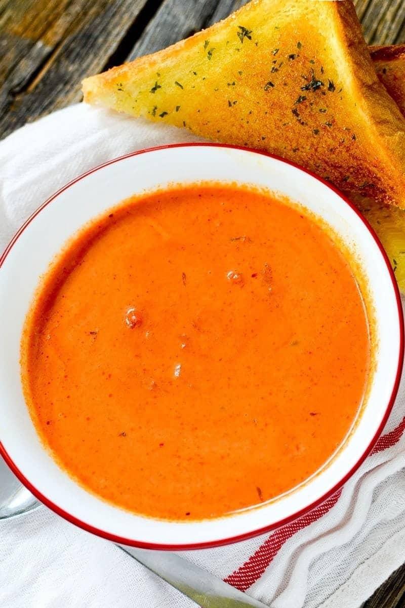 Instant Pot Cream of Tomato Soup Recipe