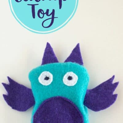 DIY Catnip Toy (with free printable pattern and video tutorial)