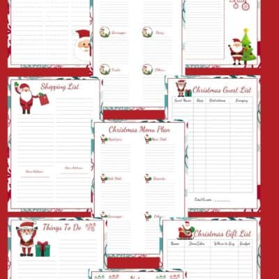 Tackle the Christmas Chaos With This FREE Christmas Planner