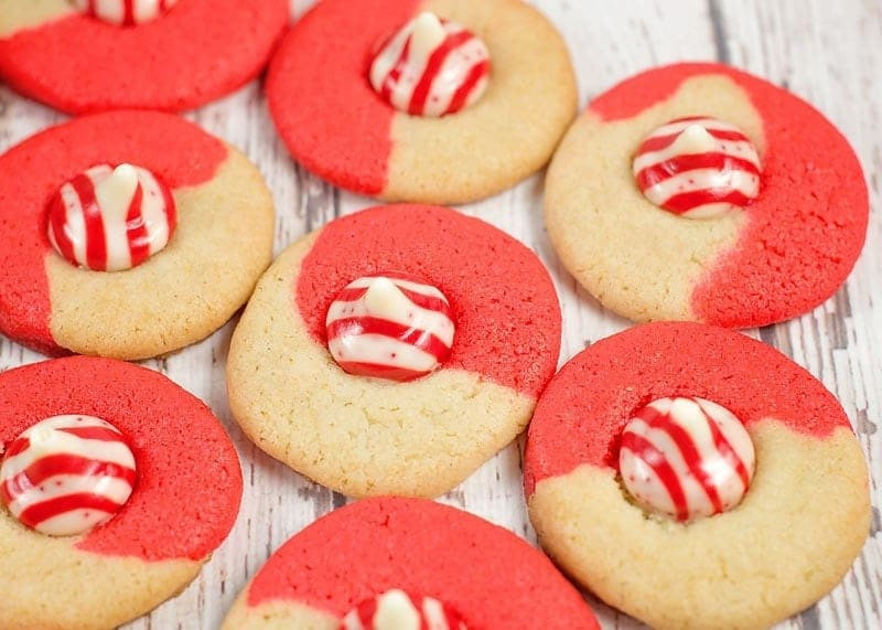 peppermint kiss cookie recipe