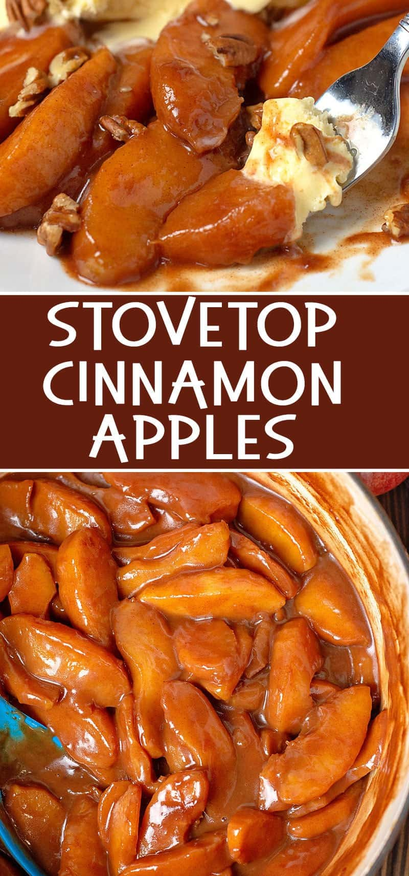 How to make cinnamon apples on the stovetop