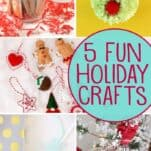 5 fun holiday crafts!
