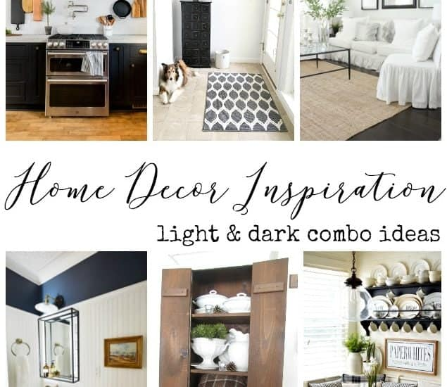 It's true, opposites do attract. Check out these beautiful light & dark home decor ideas. Today's features include DIY, remodeling and home decor, something for every one.