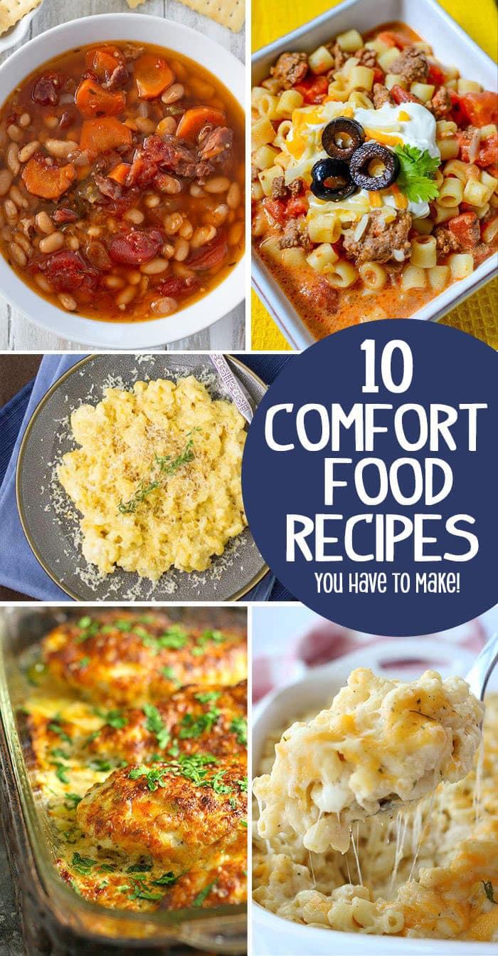 amazing comfort food recipes