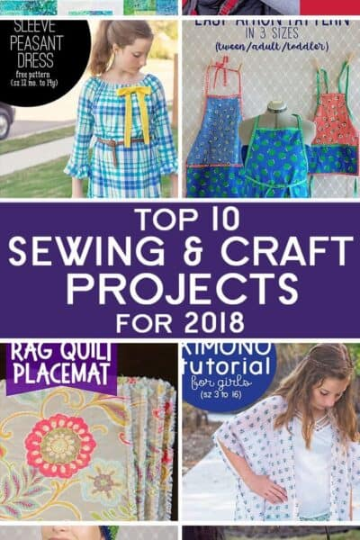 Most Popular Sewing Projects from 2018