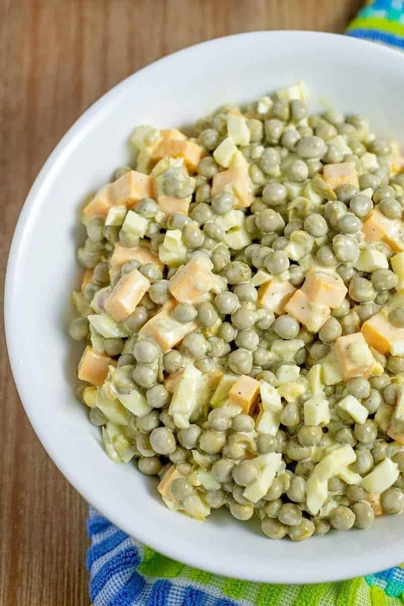 Pea Salad Recipe With Sweet Relish
