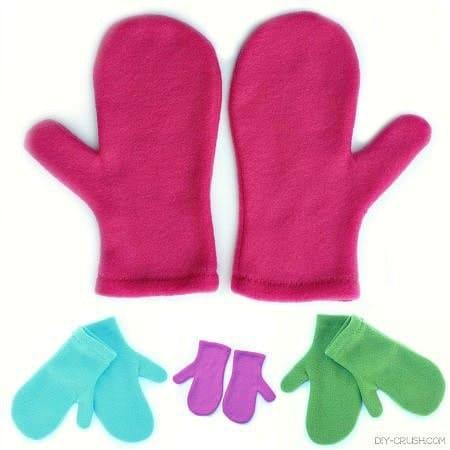 free fleece mitten pattern