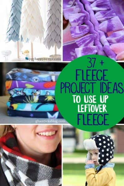37+ Easy Fleece Sewing Projects to use up your Leftover Fleece