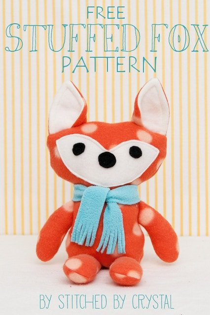 stuffed fox pattern