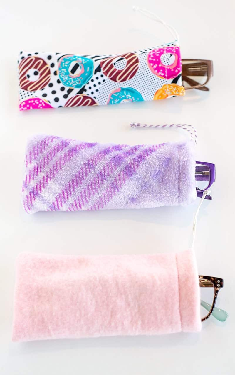 how to make a sunglass pouch