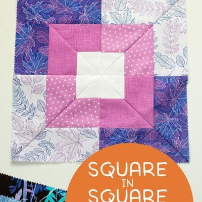 Seaside Squares Quilt Block Video Tutorial