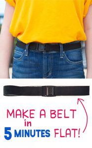 diy stretch belt