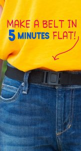 how to sew an elastic belt