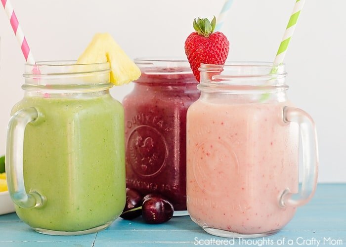 low calorie fruit smoothies