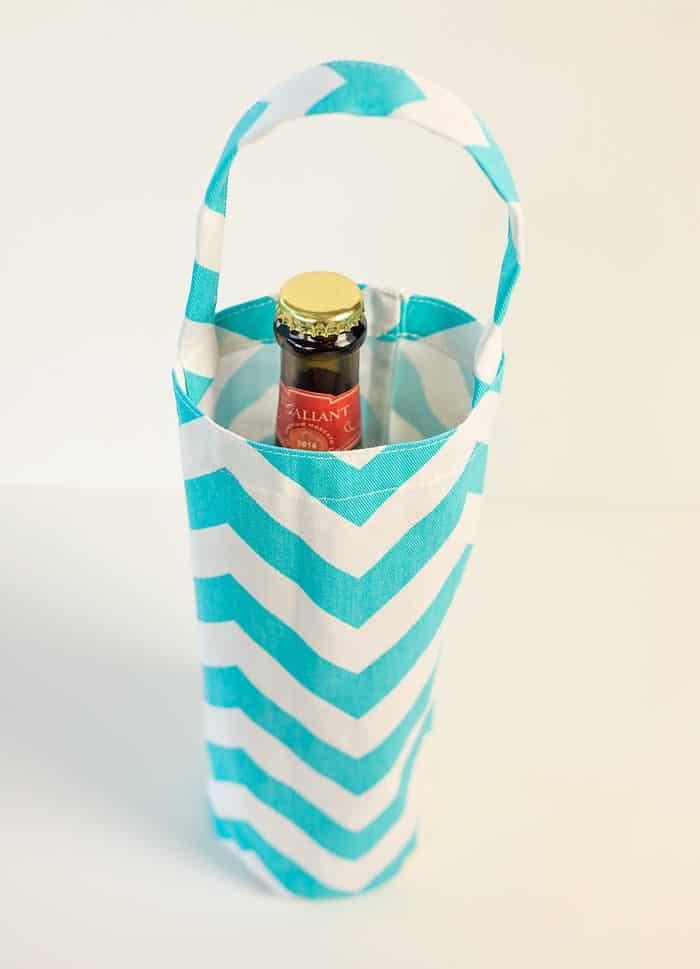 diy wine bottle tote bag