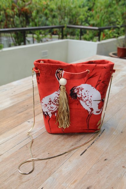 how to sew a bucket bag tutorial