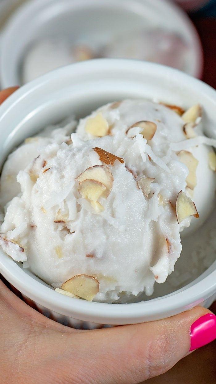 coconut sorbet recipe