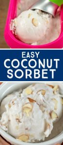 how to make coconut sorbet