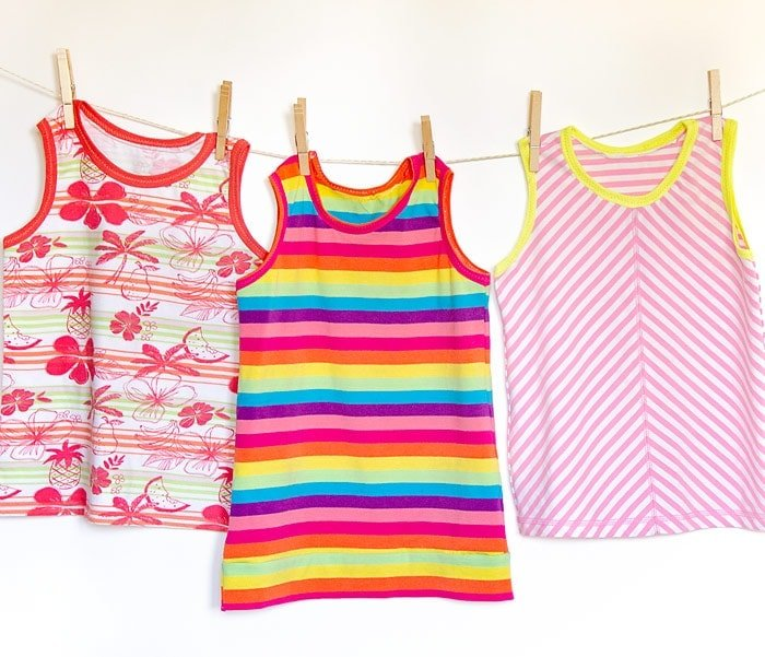 free knit tank top pattern